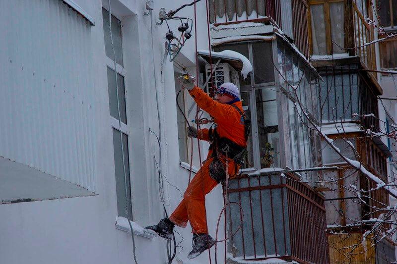 услуги промышленного альпинизма спб