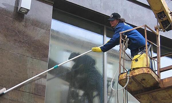 Промышленный альпинизм мытье окон спб