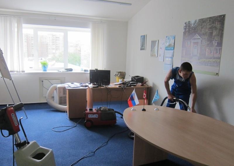 Уборка офиса спб