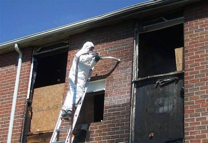 Мытье фасада спб