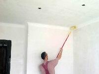 побелка потолка