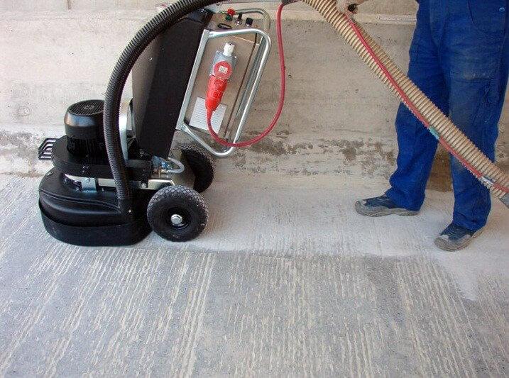 Профессиональная шлифовка бетонного пола спб