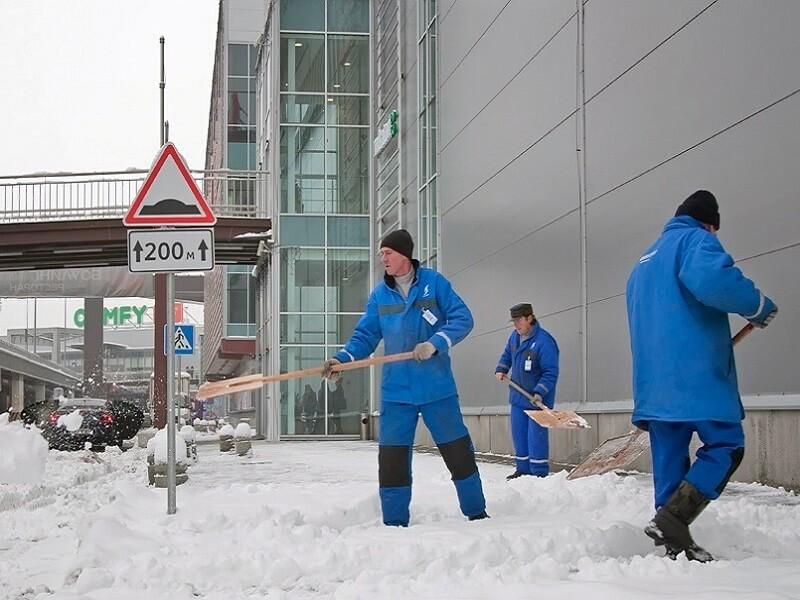 Уборка снега спб
