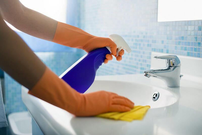мытье раковины спб